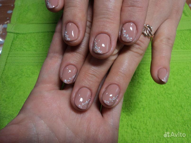 Образцы покрытия ногтей шеллаком