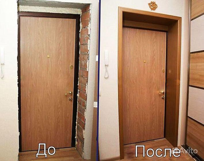 Установка входной двери своими руками фото