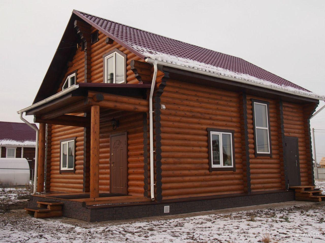Строительство домов из оцилиндрованного бревна. Московская область, Волоколамск