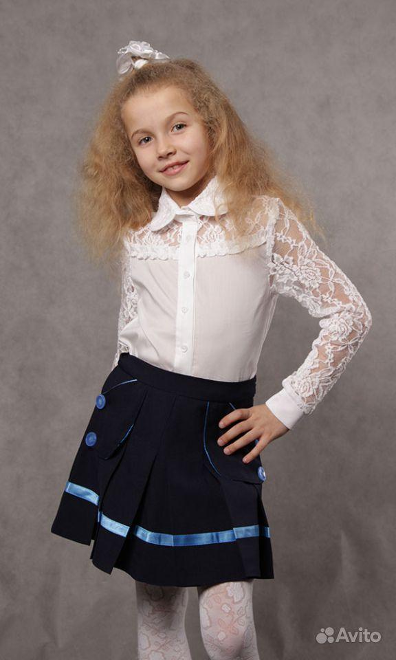Купить Гипюровую Блузку Для Девочки