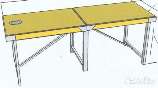 Массажный стол своими руками из металла чертежи 81