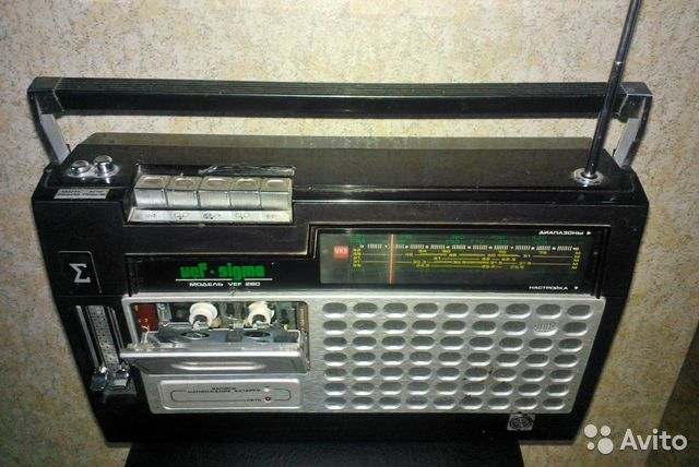 Кассетный VEF Sigma-260