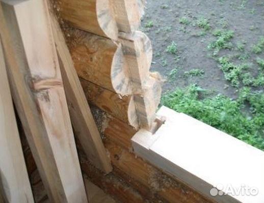 Окосячка в деревянном доме своими руками фото