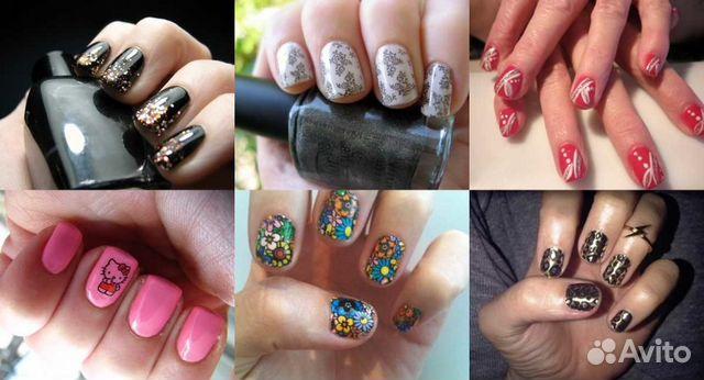 Красивые ногти на короткие ногти