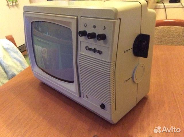 Телевизор ч/б Сапфир 307
