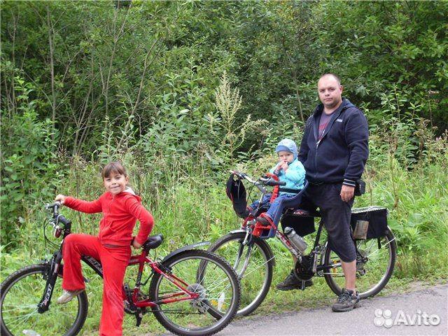 Детское кресло на велосипед на раму спереди своими руками