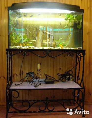Своими руками подставка для аквариума