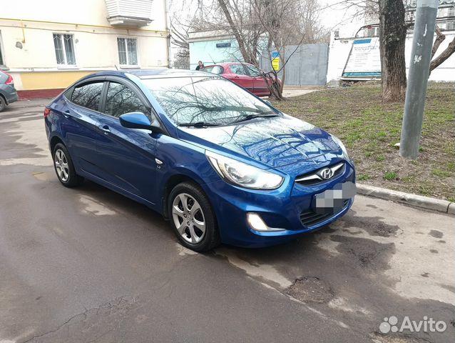 Хендай Солярис 1.6МТ, 2012, седан в новом кузове