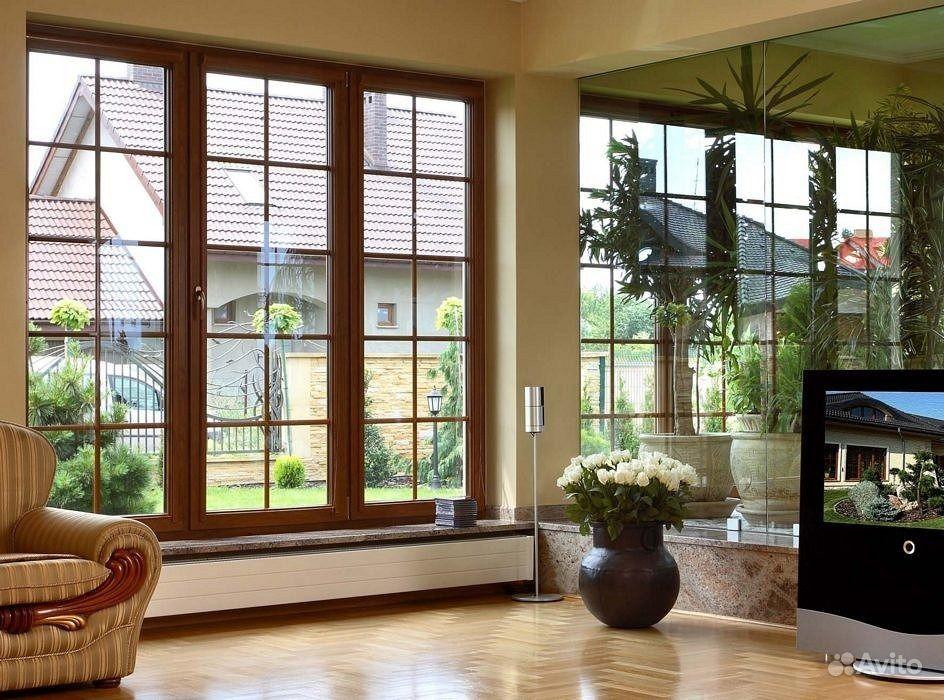 Деревянные окна из лиственницы в москве, цена на окна со сте.