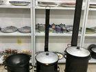Казан чугунный 3 - 225 литров + Печь для казана