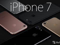 Apple iPhone 7/7+ 128gb Black/White/Gold доставка