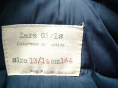 Куртка zara girls