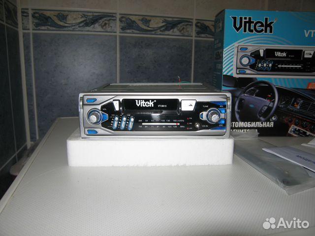 Аудиомагнитола Vitek