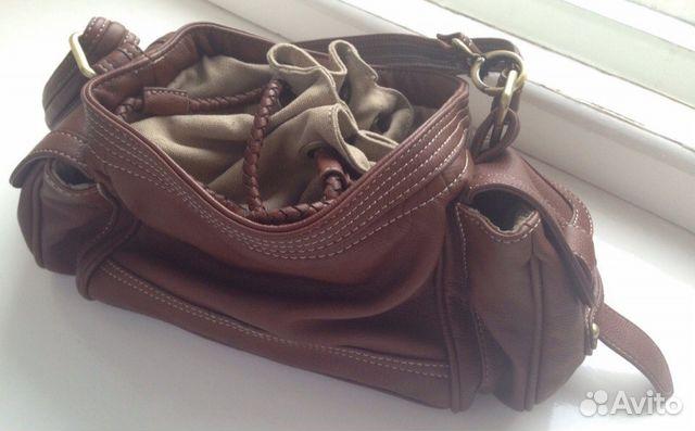 Клатч-сумка красный лак Furla оригинал купить в Омске