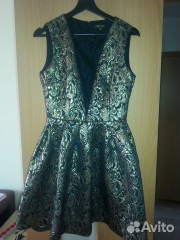 Золотистое платье 89089287954 купить 1