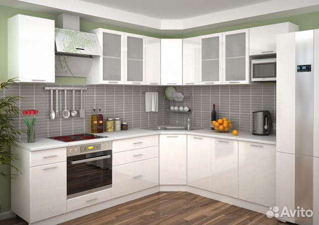 белая угловая кухня новая Festimaru мониторинг объявлений