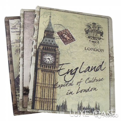 "Lux-Case ""London"" для iPad Air 1-3 mini 4 кнр— фотография №1"