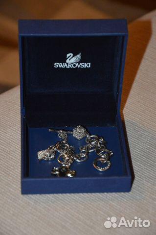 Сваровски браслеты с подвесками
