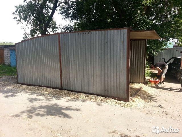 Продажа металлического гаража на авито купить гараж в александрове владимирской