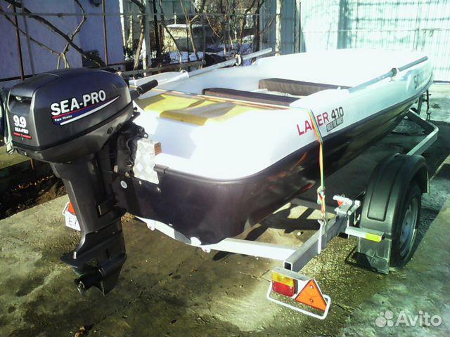 пластиковая лодка ниссамаран 410 купить