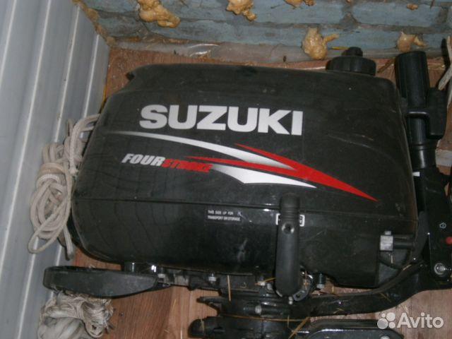 лодочный мотор сузуки 5лс цена
