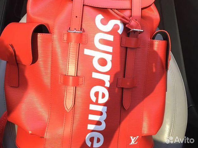 Рюкзак Louis Vuitton Supreme оригинал купить в Москве на Avito ... 1b5aee7f2df