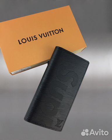 Кошелек купюрница Louis Vuitton Supreme арт.1703-2 купить в Москве ... ab7f7bec411