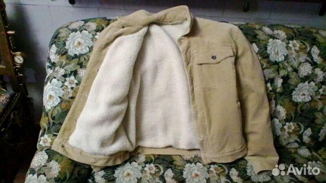 Куртка вельветовая на меху 89372217858 купить 4