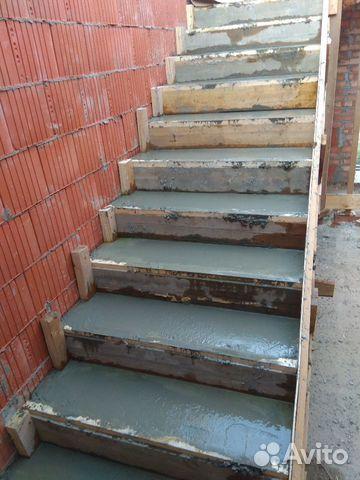 Сколько стоит работа бетонный лестница