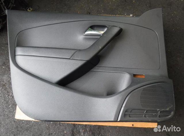 обшивка водительской двери фольксваген поло седан
