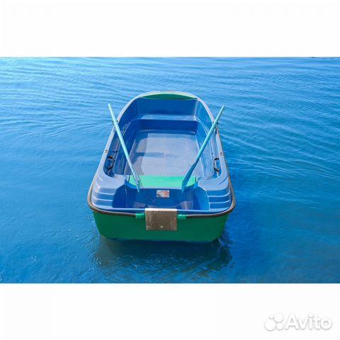 Стеклопластиковая лодка пингвин