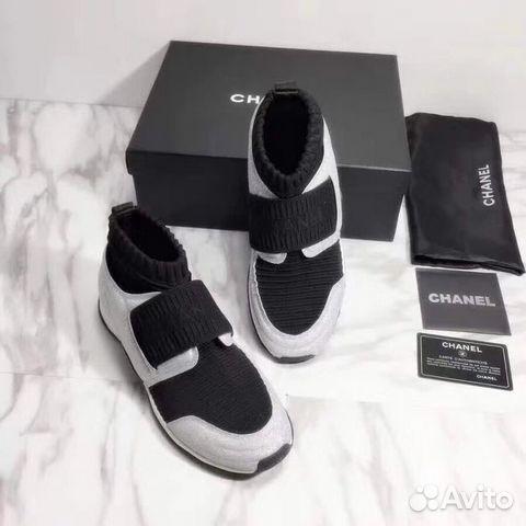08c12d78532a Кроссовки-носки Chanel купить в Санкт-Петербурге на Avito ...