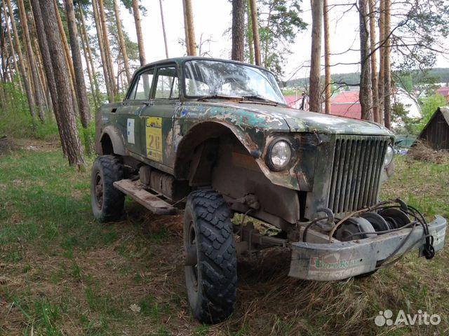 ГАЗ 69, 1960— фотография №3