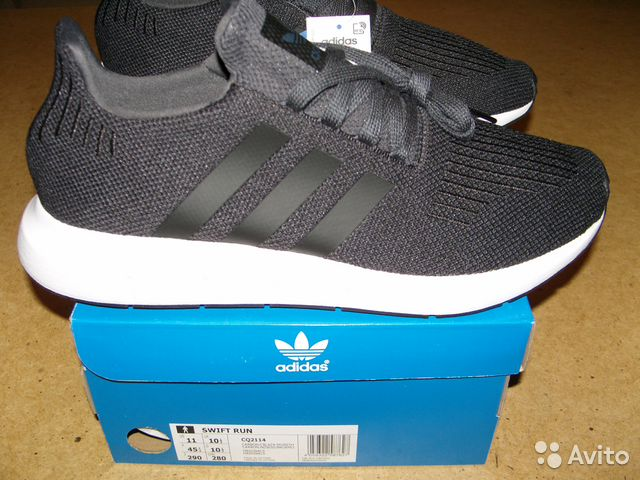 8779381dacb6 Adidas 44 размер новые кроссовки Swift Run купить в Ростовской ...
