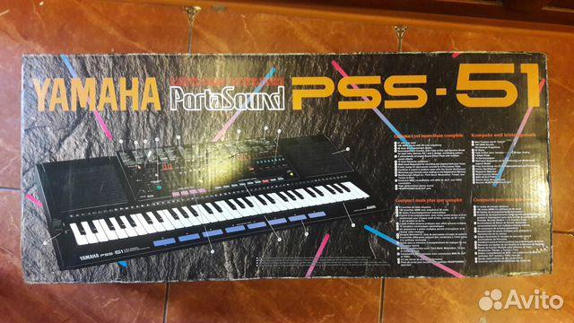 синтезатор ямаха pss 51 инструкция