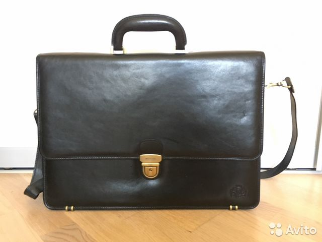 Кожаный портфель Advokat-2 (коричн) фирмы sachet   Festima.Ru ... 63a06a22eb9