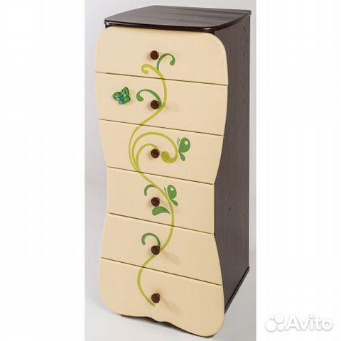 Комод для детской комнаты Бабочка венге ваниль купить в Москве на ... 49319052b6c