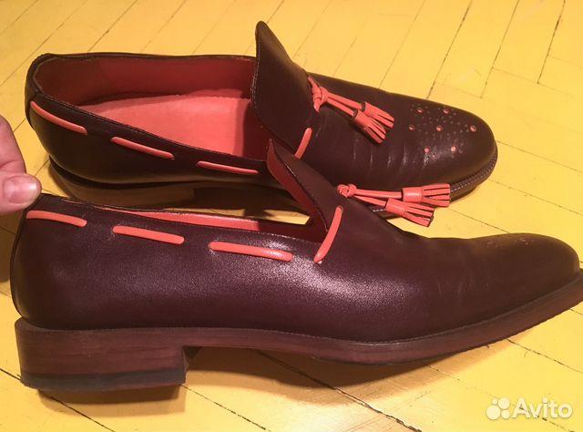 Туфли мужские ручной работы Италия  2eb8c26e4773c