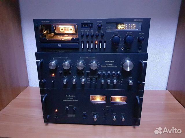 Редкий Усилитель Technics 9600, Дека Technics 673