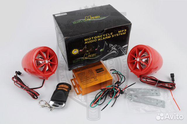 Аудиосистема для мотоцикла 89034005955 купить 2