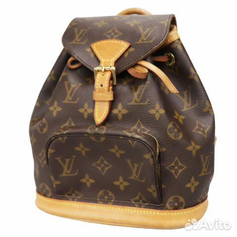 61f7ebf6f5c1 Louis Vuitton оригинал рюкзак 25см уеу929 купить в Москве на Avito ...