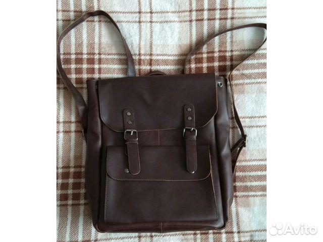 26993506cb26 Новый Рюкзак винтаж темно коричневый купить в Москве на Avito ...