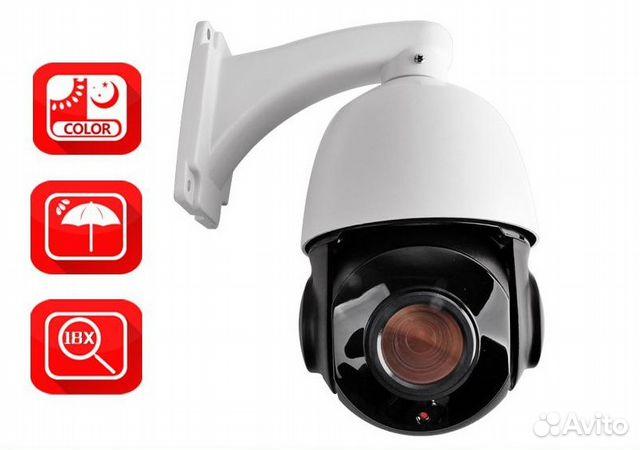 Поворотная управляемая AHD камера видеонаблюдения купить 2