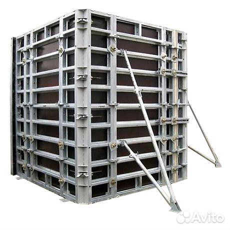 Щит алюминиевый 3.0х1.2 для стеновой опалубки