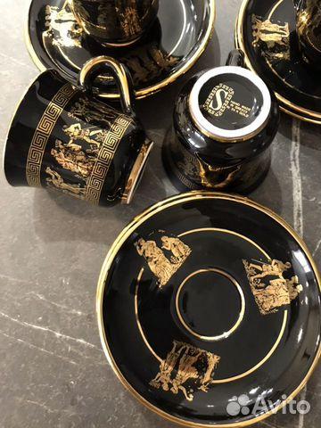 Коллекционный кофейный набор Греция-ручная роспись 89180478771 купить 6
