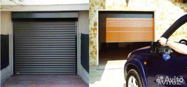гаражные ворота рольставни купить в екатеринбурге