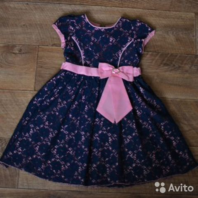 Нарядное платье для девочки 5-6 лет  89059618729 купить 2