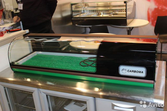 Витрина холодильная Carboma вхсв-1,0 Суши кейс 89277969751 купить 1