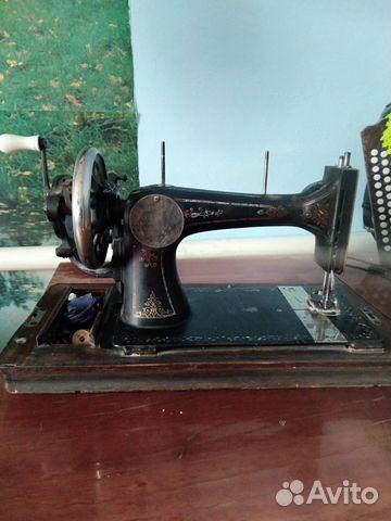 Швейная машина NAH maschinen 1890 -1910гг 89080119999 купить 1