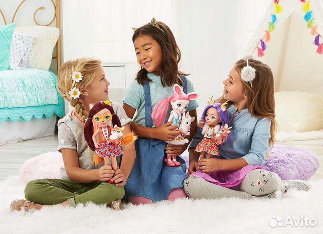 Enchantimals большая Кукла 31см в ассорт  89062132153 купить 10